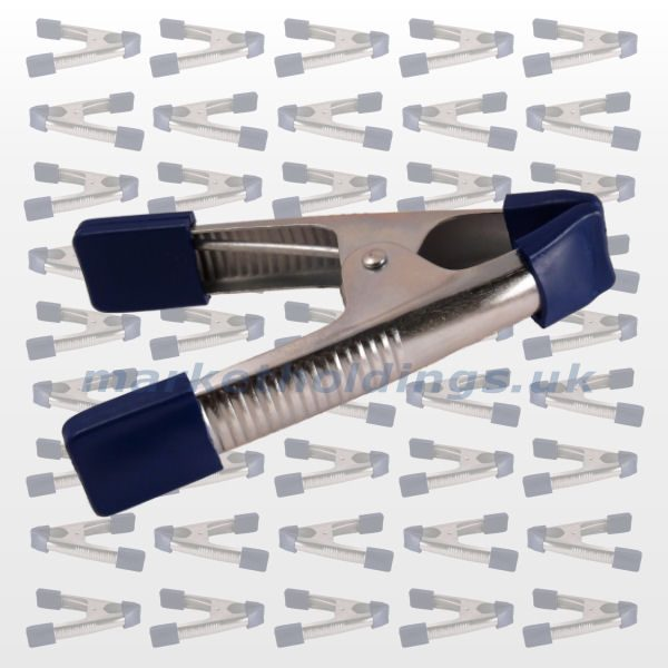 Blue Capped Clamps