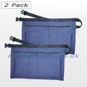 Denim Money Belts 2 Pack