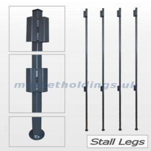 2 Metre Stall Legs